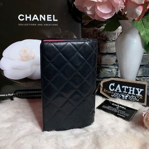 CHANEL Bags - 𝓒𝓱𝓪𝓷𝓮𝓵 𝓒𝓪𝓶𝓫𝓸𝓷𝓛𝓸𝓷𝓰 𝓦𝓪𝓵𝓵𝓮𝓽